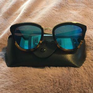 DIFF Rose Sunglasses